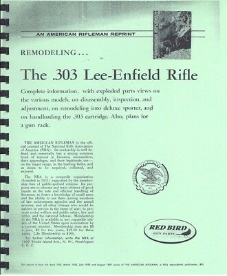 THE LEE-ENFIELD RIFLE GUN MANUAL - 16 Pages 1,2,3,4,5