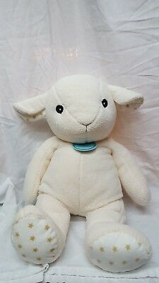 "Cloud B Lamb Large 23"" Plush Stuffed Animal Baby Stars Destash Blanks Vinyl"