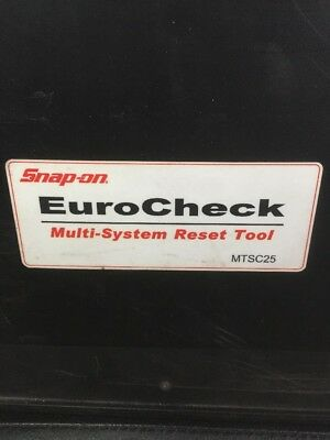 Snap-on Eurocheck Multi-System Reset Tool
