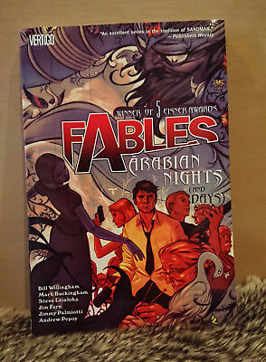 Fables - Volume 7 - Arabian Nights (And Days) by Bill Willingham (Paperback)