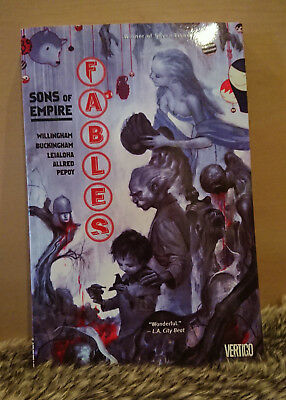 Fables - Volume 9 - Sons Of Empire by Bill Willingham (Paperback)