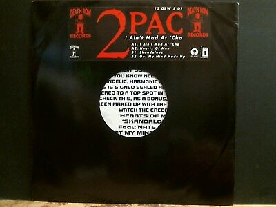 "2PAC   I Ain't Mad At 'Cha    12""  PROMO   Very rare!"