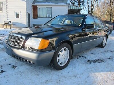 1994 Mercedes-Benz S-Class S420 MERCEDES BENZ S420 1994 ONE OWNER LOW MILEAGE! BLACK/TAN