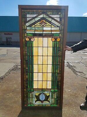 Stained Glass Window, Church Window, Early 1900s, Architectural Salvage