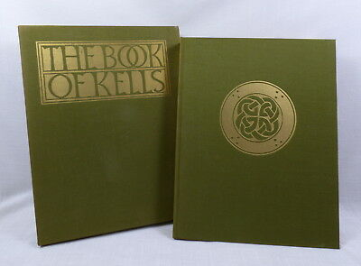 First American Edition Book of Kells 1974 Hardcover with Slipcase