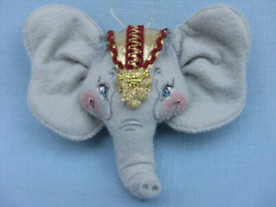"4"" Annalee Nativity Elephant Ornament - 980403 - New - Sue Coffee Exclusive"