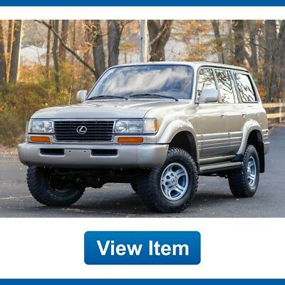 1997 Lexus LX Base Sport Utility 4-Door 1997 Lexus LX 450 LX450 Low 154K mi Florida LIFTED Tow Package Land Cruiser FJ80