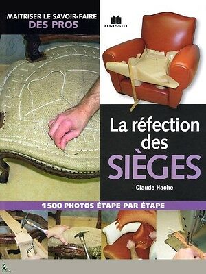 Restoration of seats, French book by C.Hache, 3rd ed.