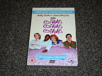 Gimme Gimme Gimme : Complete Collection - Kathy Burke Dvd Boxset (Free Uk P&p)