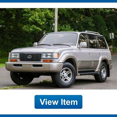 1997 Lexus LX Base Sport Utility 4-Door 1997 Lexus LX450 Diff LOCK 1 Owner 3rd ROW FJ80 Land Cruiser Rare 141K mi