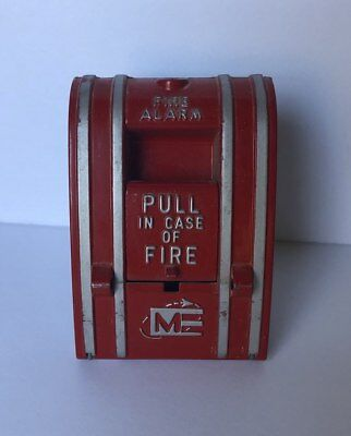 ME / Edwards 270-SPO Manual Fire Alarm Pull Station Vintage Retro