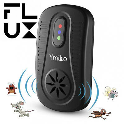 Ultrasonic Pest Repeller Whole House Rat and Mouse Insect Rodent Pet Friendly