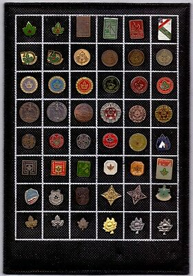48 PIN pins badge anstecknadel SCOUT boy scouts, pins on table