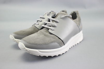 NWT $525 Opening Ceremony Gray Suede & Leather Mens Sneakers Size 9
