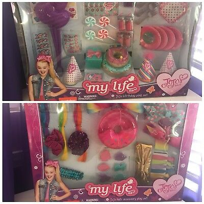 *RARE* Jojo Siwa My Life Birthday Party and Hair Accessory Playset