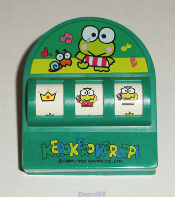 RARE & VINTAGE! 1992 Sanrio KEROPPI Large Clip w/Rotating Images from JAPAN!
