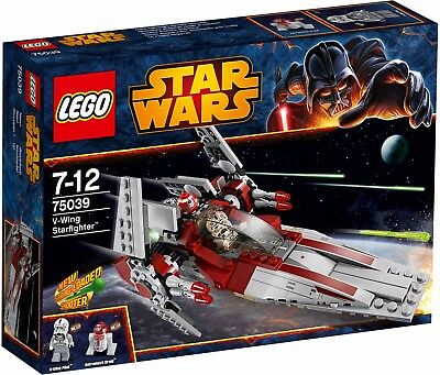 [DISCONTINNUED] LEGO Star Wars 75039: V-Wing Starfighter New & Sealed