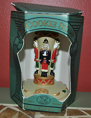 1995 Brown Bag Cookie Art The Cookie Stamp Nutcracker No. 14 w/Box NEW