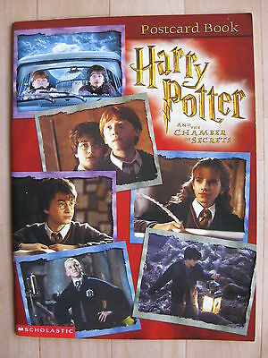 HARRY POTTER AND THE CHAMBER OF SECRETS 2002 movie postcard book Hogwarts
