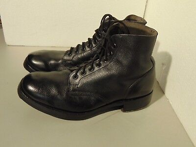 ROYAL NAVY DECK/AMMO BOOTS T & H BROS Size 9 M