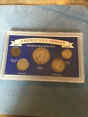 1990 and 1991 AMERICANA SERIES YESTERYEAR COIN COLLECTION