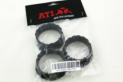 Auto-Tech Interiors 52/60-CONV-TRIO 60mm to 52mm Adapter Rings 3 Pack ATI