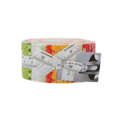 Orchard Jelly Roll 40 2.5-inch Strips by April Rosenthal Prairie Grass for Moda Fabrics 24070JR