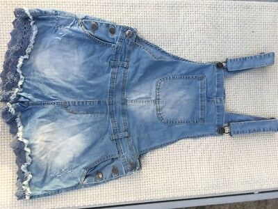 Pavement Gum Denim Overalls