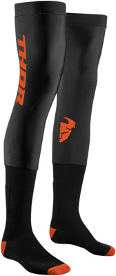 THOR MX Motocross Men's 2018 COMP Full Length Knee Brace Socks (Black) SM-MD