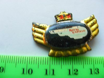 ROYAL  ENFIELD  motorcycle very old lapel,hat pin badge.