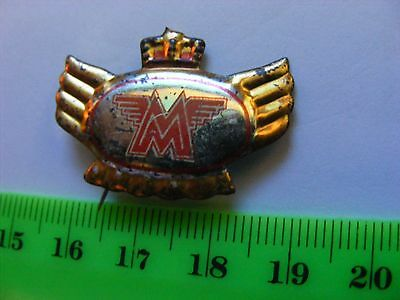 MATCHLESS  motorcycle very old lapel,hat pin badge(B)