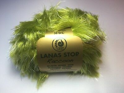 10 Knäuel Lanas Stop SEAL Farbe Garn Wolle 59,90€//kg 107 Luxuswolle 50 Gr