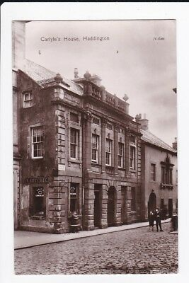 Carlyle's House High Street Haddington A Ritchie Fry's Chocolate RPPC Postcard