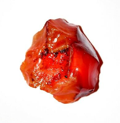"100 % Natural Raw Mineral 203.05 Cts. Carnelian Rough Gemstone ""GGL Certified"""