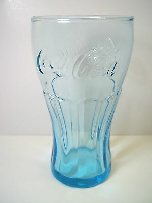 McDonalds ICE BLUE coke glass coca cola