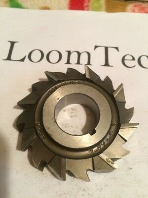 Newly Resharpened 2-1/2 X 1/2 X 7/8 Stagger Tooth Side Milling Cutter