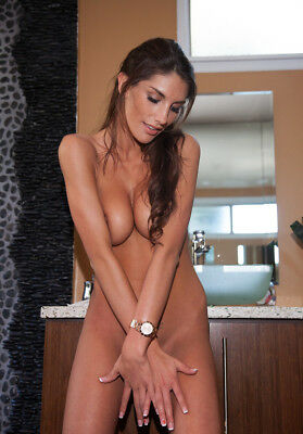photo 10X15cm 4X6 INCH AUGUST AMES  PLAYMATE PENTHOUSE