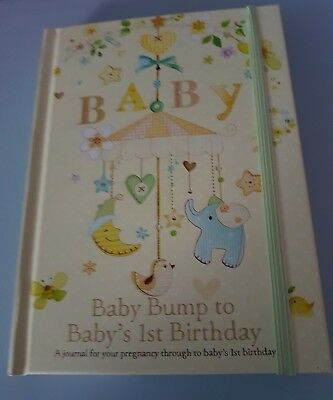 New Adorable Baby Record And Pregnancy Keepsake Memory Journal Book - Ideal Gift