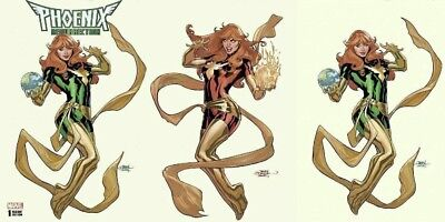 Phoenix Resurrection The Return Of Jean Grey #1 3-Pack Set Terry Dodson Cover