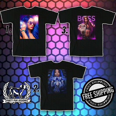 WWE Sasha Banks T-Shirts / Hoodies / Posters / Magnets / Stickers