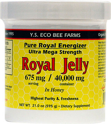 YS Eco Bee Farms Pure Royal Energizer Ultra Mega Strength 21oz./595g