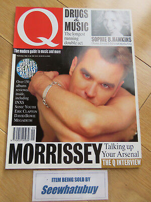 Vintage Q Music Magazine - September 1992 - The Smiths / Morrissey / Sophie B Ha