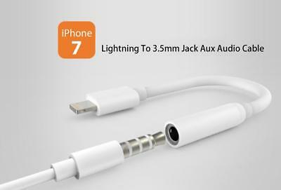 New Apple A1749 Lightning to 3.5mm Headphone Jack Adapter for iPhone 7 8 IOS 11
