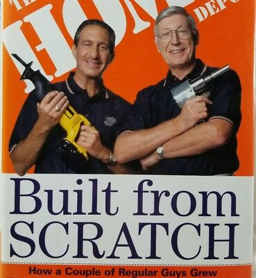 Built From Scratch by Marcus & Blank ~ The Home Depot ~ Hardcover ~ 1st Edition