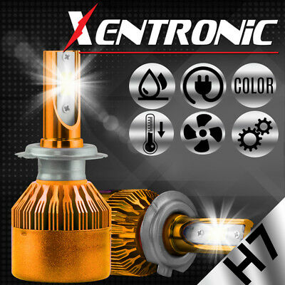 XENTRONIC LED HID Headlight kit H7 White for Mercedes-Benz GL450 2007-2016