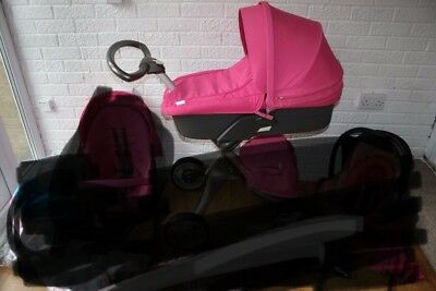 Stokke Xplory Pink Carry Cot Carrycot Bassinet