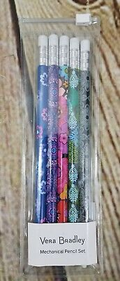 Vera Bradley Mechanical Pencil Set Multi Colored Just Released Gift New