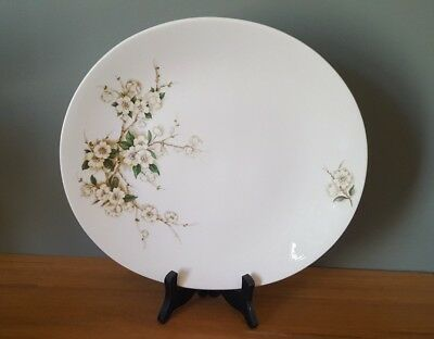 Clarice Cliff Blossom Time Serving Plate Royal Staffordshire England