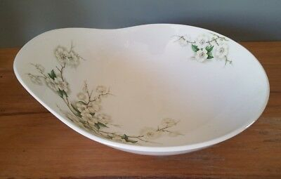 Clarice Cliff Blossom Time Serving Bowl  Royal Staffordshire England