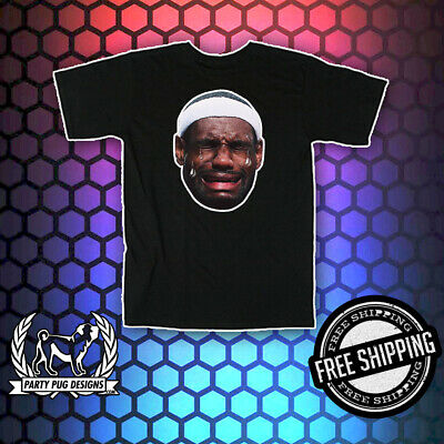 LeBron James Crying T-Shirts / Hoodies / Magnets / Stickers